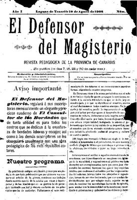 El Defensor del Magisterio